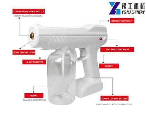 YG Blu Ray Anion Nano Spray Gun