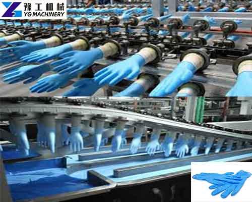 Nitrile Glove Manufacturing Machine
