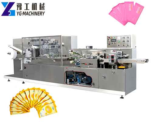 One Piece Wet Tissue Machine