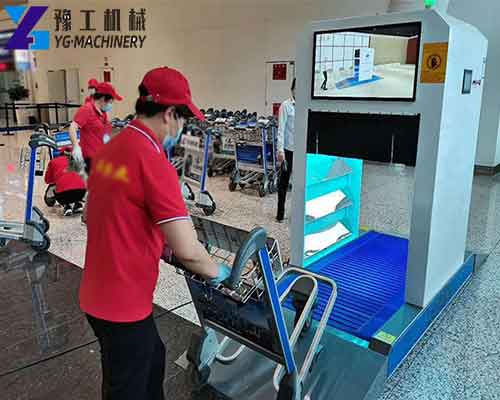 Airport Trolley Disinfection Equipment