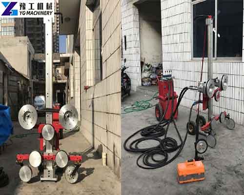 Application of Hydraulic Concrete Wall Saw