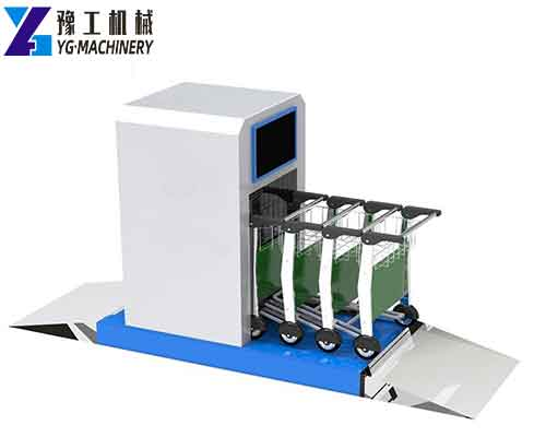 Automatic Trolley Sterilization Machine