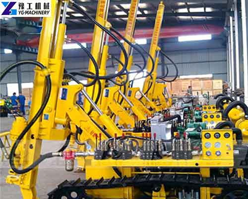 Crawler Down the Hole Drilling Machine Manufacturer