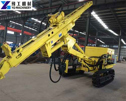 DTH Rock Drilling Machine