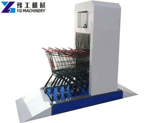 Full Automatic Airport Trolley Sterilization Machine