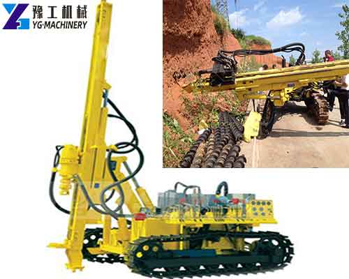 Hydraulic Crawler Mounted DTH Drilling Rig