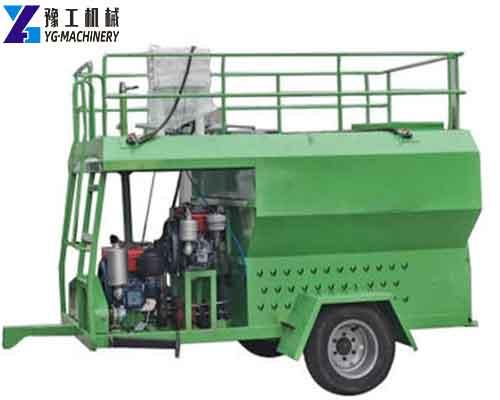 Hydroseeder Machine with Wheels