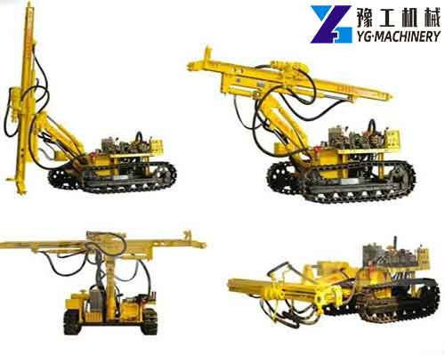 YGL Series Crawler DTH Drilling Rig