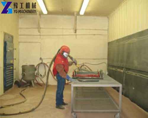 Application of Sand Blasting Room