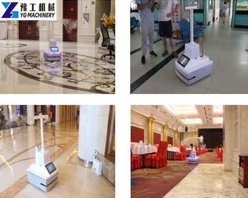 Application of YG UV Disinfection Robot