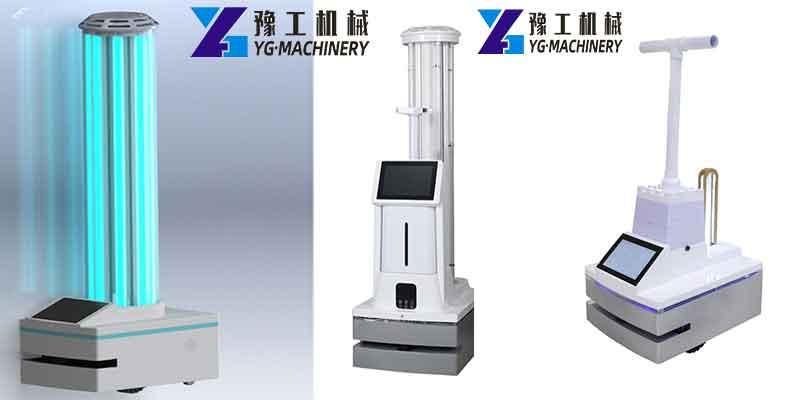 YG Smart UV Sterilizer Robot for Sale