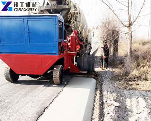 Application of Curb and Gutter Machine