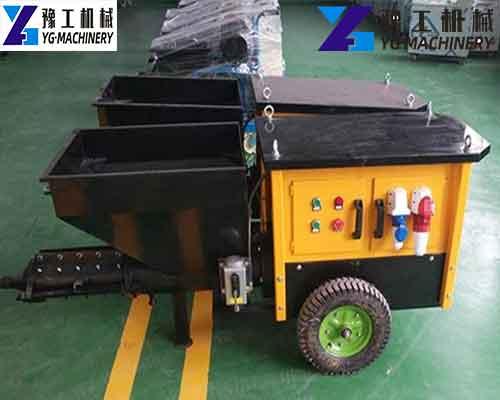 Factory Price Mortar Sprayer Machine