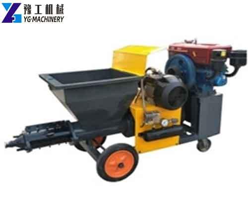 Mortar Sprayer Machine