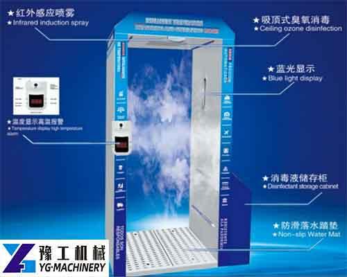 Temperature Measurement Disinfection Door for Sale