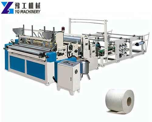 Non-woven Fabric Rewinder Machine