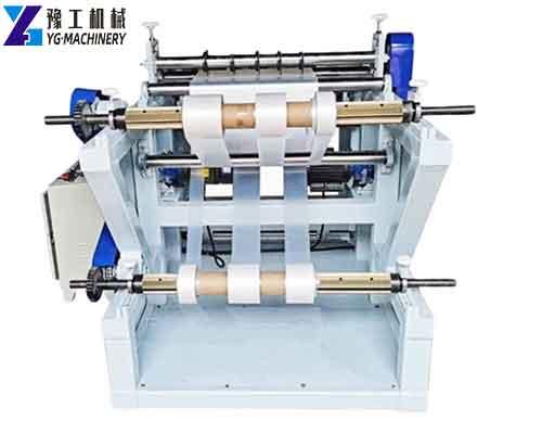 PLC Controlled Roll Rewinder Machine