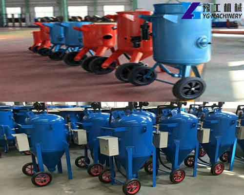 Mobile Sandblasting Equipment Manufacturer
