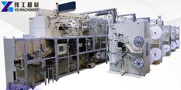 Sanitary Pads Manufacturing Machine