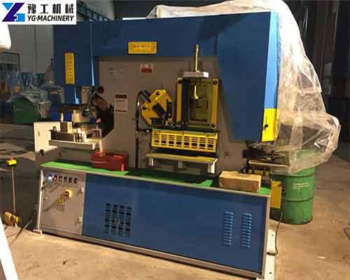 Buy Multifunction Hydraulic Combined Punching and Shearing Machine