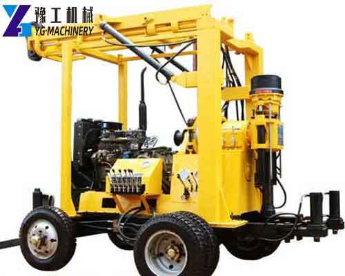 Hot XYX-3 Trailer Water Well Drilling Rig