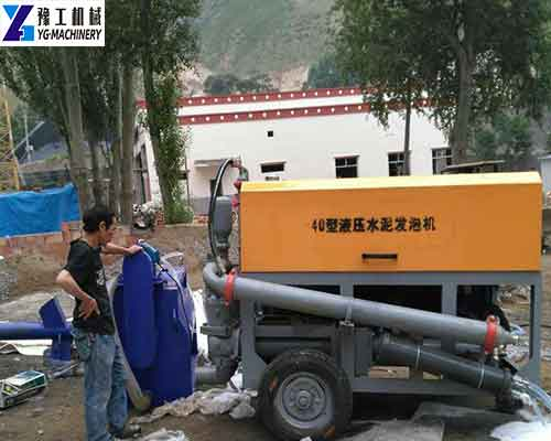 Large Cement Foaming Machine Price