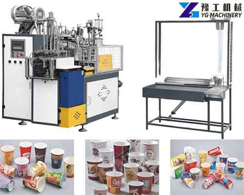 Paper Cup Manufacturing Machine