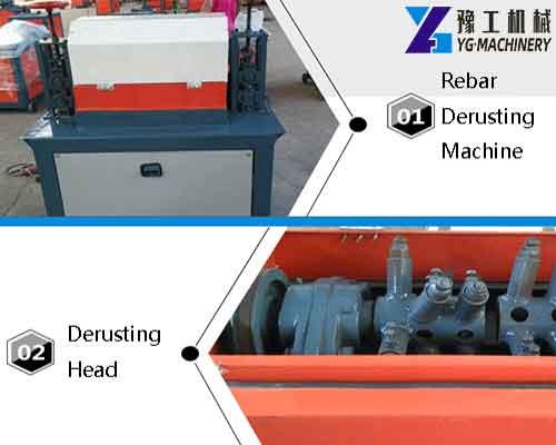 Rebar Derusting Machine Display