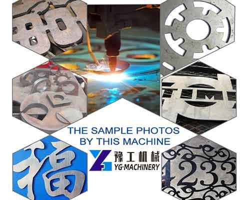 Sample Pictures of Plasma Cutting Machine