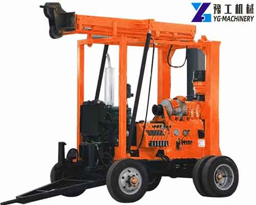 Trailer Mounted Type Water Well Drilling Rig Price