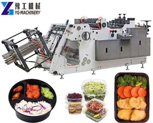 Hot-sale Paper Lunch Box Machine