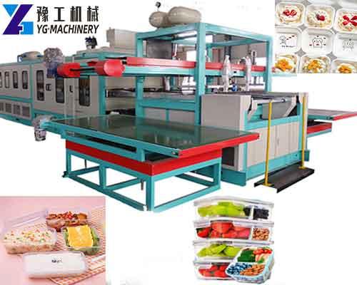 Plastic Lunch Box Making Machine