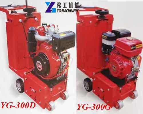 YG-300 Series Automatic Concrete Scarifier Machine Manufacturer