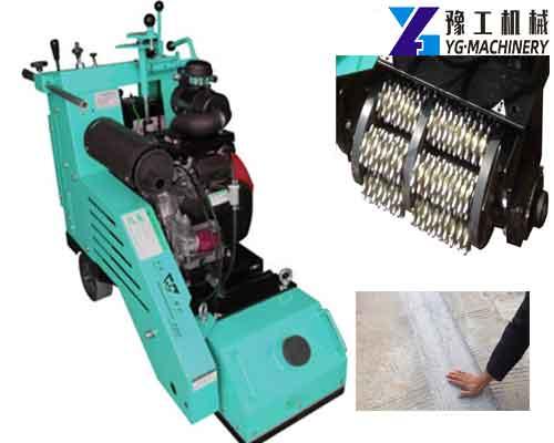 YG-300XBJ Hydraulic Concrete and Asphalt Floor Milling Machine