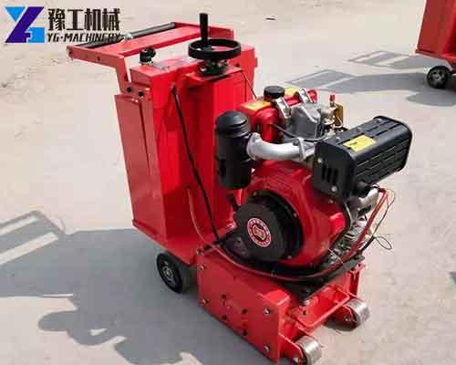 Concrete Scarifier Machine