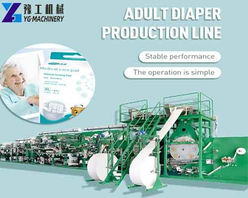 Diaper Manufacturing Machine
