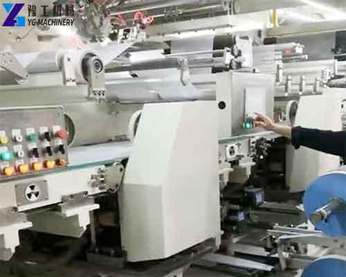 Diaper Production Line Characteristics